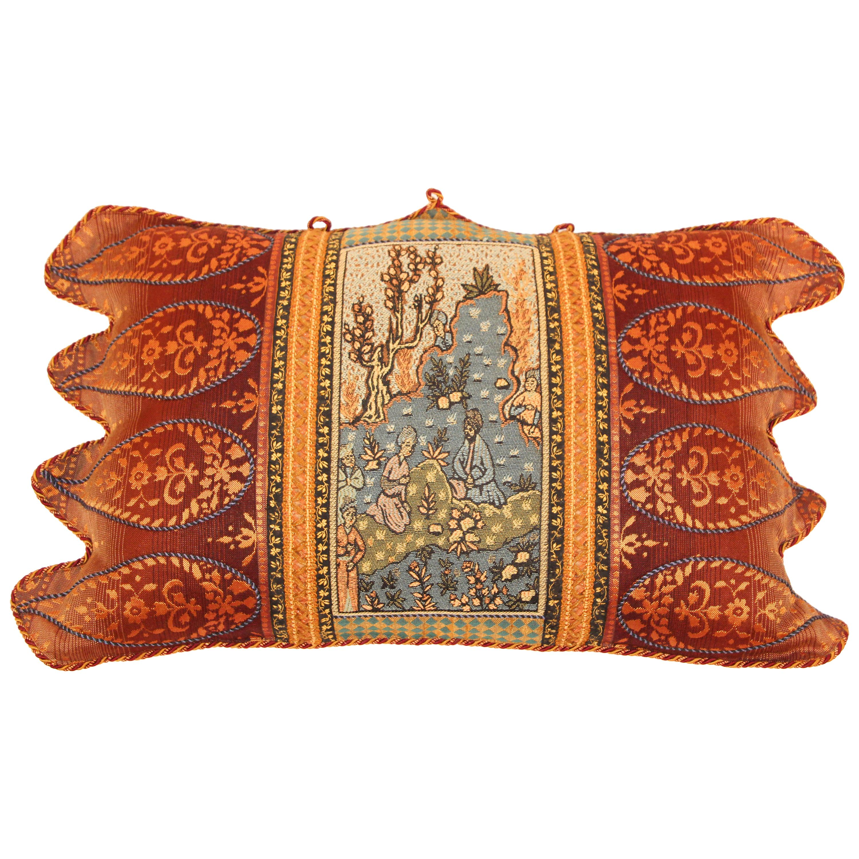 Middle Eastern Decorative Throw Pillow