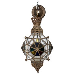 Middle Eastern Glass Lantern