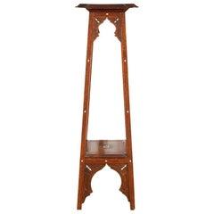 Middle Eastern Moorish Inlaid Pedestal