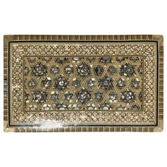 Middle Eastern Moorish Mother of Pearl Jewelry Box