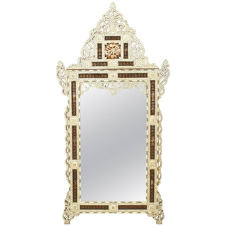 Middle Eastern Moorish Style Mirror 1stdibs New York For