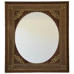 Middle Eastern Moorish-Style Sadeli Mosaic Mirror