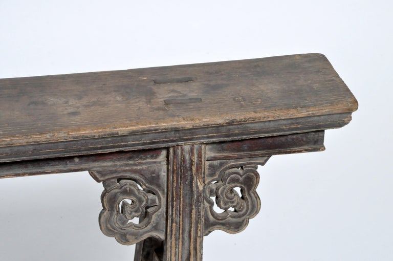 Elm Middle Qing Dynasty Chinese Bench Century For Sale