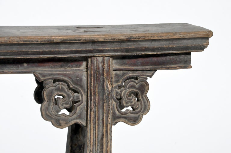 Middle Qing Dynasty Chinese Bench Century For Sale 1