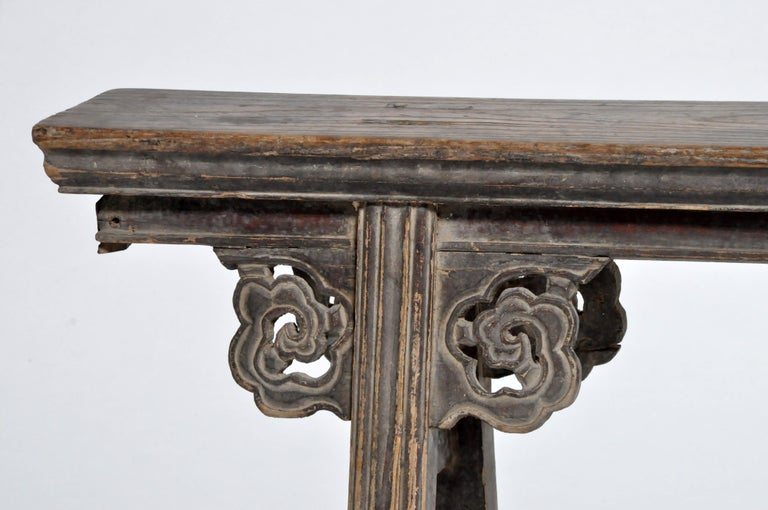 Middle Qing Dynasty Chinese Bench Century For Sale 2