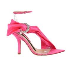 Midnight 00 Duchesse Fushchia Heel (40 EU)