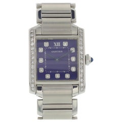Midsize Cartier Tank Francaise Stainless Steel 2301