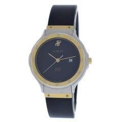 Midsize Hublot MDM Geneve Classic 1401.2 Steel 18 Karat Gold Quartz Watch