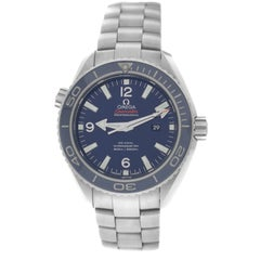 Midsize Omega Seamaster Planet Ocean Ti Automatic Watch