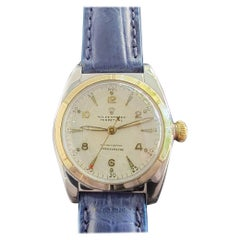 Midsize Rolex Oyster Perpetual 5011 14k Gold & SS Automatic 1940s MA205BLU