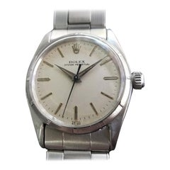 Midsize Rolex Oyster Perpetual 6549 Automatic Watch, c.1950s Vintage RA144