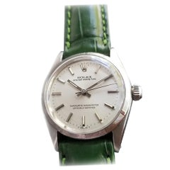 Midsize Rolex Oyster Perpetual Ref.6549 Automatic Watch, c.1960s RA128GRN