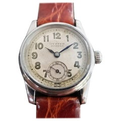 Midsize Rolex Oyster Pioneer 3373 Hand-Wind Military Watch, circa 1930s MA190