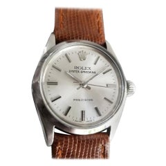 Midsize Rolex Oyster Precision 6430 Speedking Manual Wind, c.1960s LV684BRN