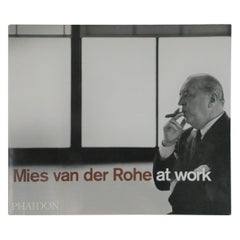 Mies van der Rohe at Work, Coffee Table or Library Book