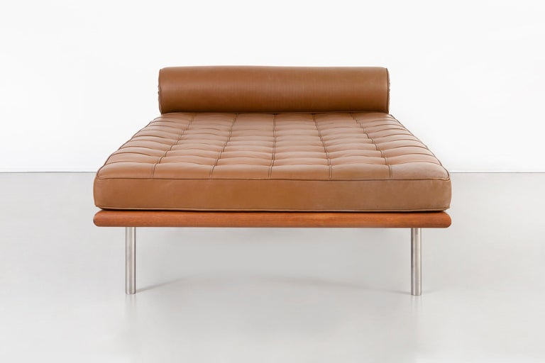 American Mies Van Der Rohe Barcelona Couch for Knoll For Sale