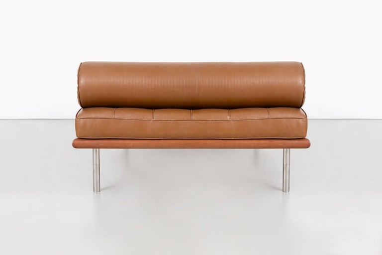 Late 20th Century Mies Van Der Rohe Barcelona Couch for Knoll For Sale