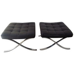 Mies van der Rohe Barcelona Ottomans by Knoll