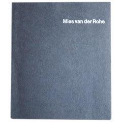 Mies Van Der Rohe Book, 1968