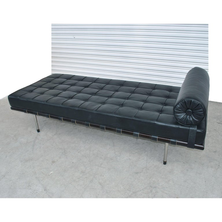 20th Century Mies van der Rohe Brazilian Artesian Classic Daybed For Sale