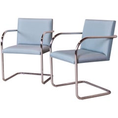 Mies van der Rohe Brno Club Chairs, Pair