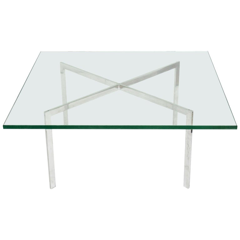 Mies van der Rohe for Knoll Barcelona Coffee Table For Sale