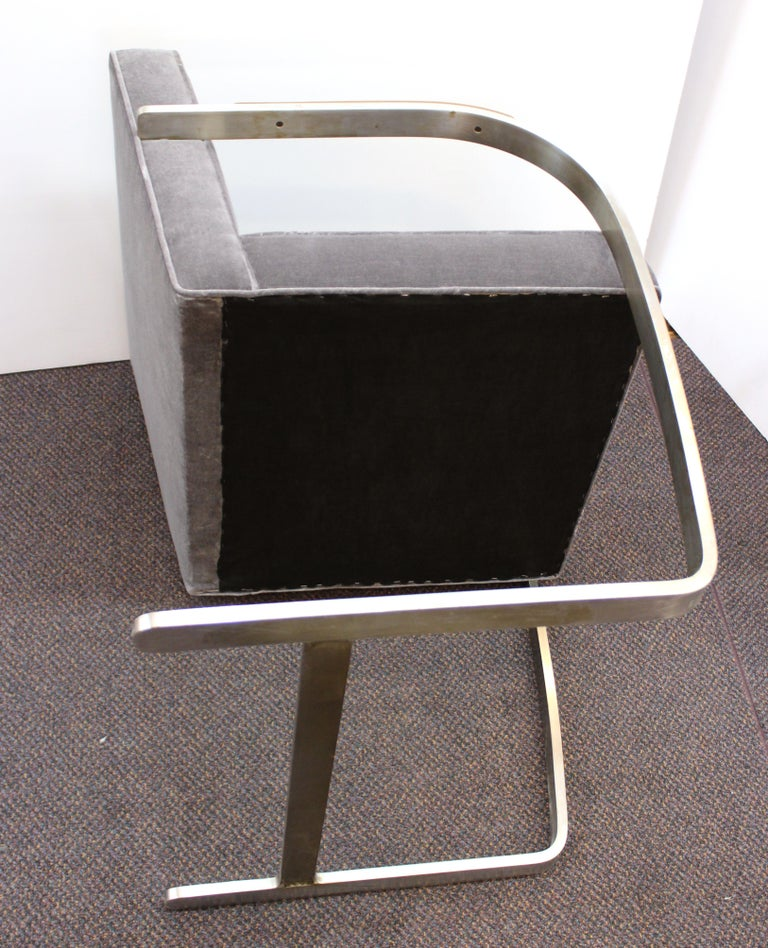 Mies van der Rohe for Knoll Brno Armchairs For Sale 8