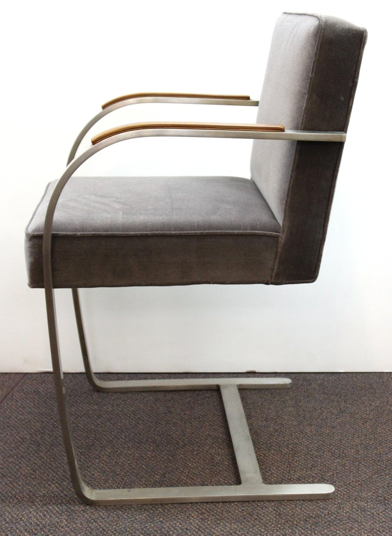 Mies van der Rohe for Knoll Brno Armchairs In Good Condition For Sale In New York, NY