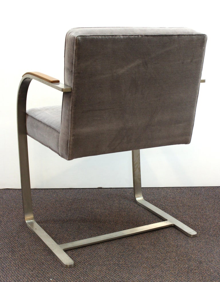 Mid-20th Century Mies van der Rohe for Knoll Brno Armchairs For Sale