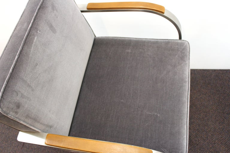 Mies van der Rohe for Knoll Brno Armchairs For Sale 2