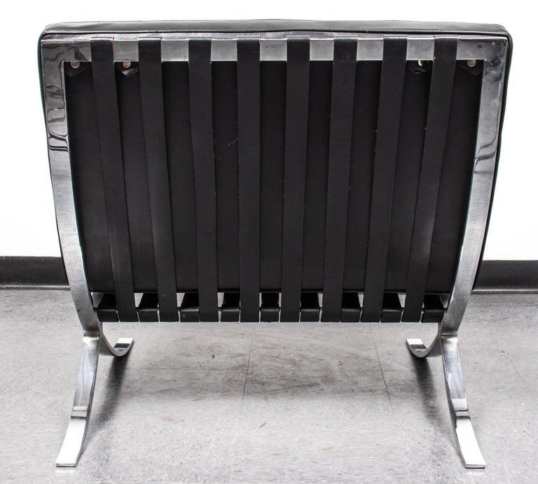 Mid-20th Century Mies van der Rohe Mid-Century Modern Split Frame Barcelona Chair For Sale