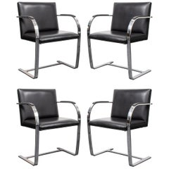 "Mies van der Rohe Modernist ""Brno"" Chairs"