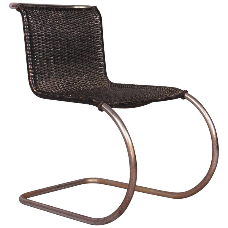 Mies Van Der Rohe Mr 10 Side Chair For Sale At 1stdibs