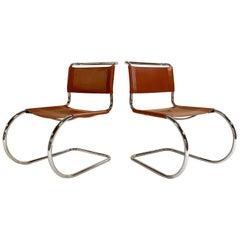 Mies van der Rohe MR Chairs, Pair