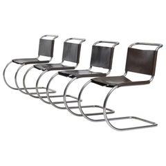 Mies van der Rohe Mr Chairs Set of 4