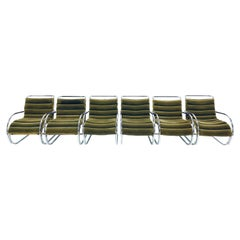 Mies van der Rohe MVR Lounge Chair with Arms by Gordon International