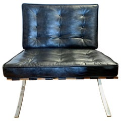 Mies van der Rohe Newly Upholstered Barcelona Chair