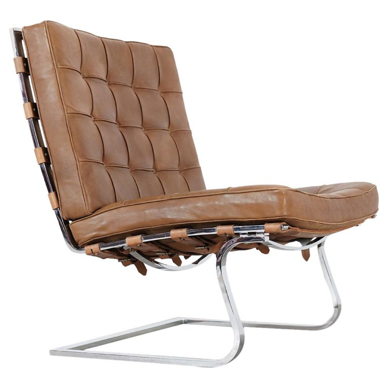 Mies Van Der Rohe Tugendhat Lounge Chair Mr 70 For Knoll