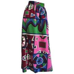 Mignon Velvet Maxi Skirt 1960s