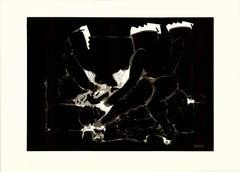 Darkness original Tao Art serigraphy by Miguel Angel Batalla