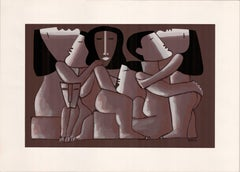The Couples original Tao Art serigraphy by Miguel Angel Batalla