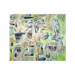 Miguel Ángel Cordera, Nube Paralela 'Parallel Cloud', Acrylic on Canvas