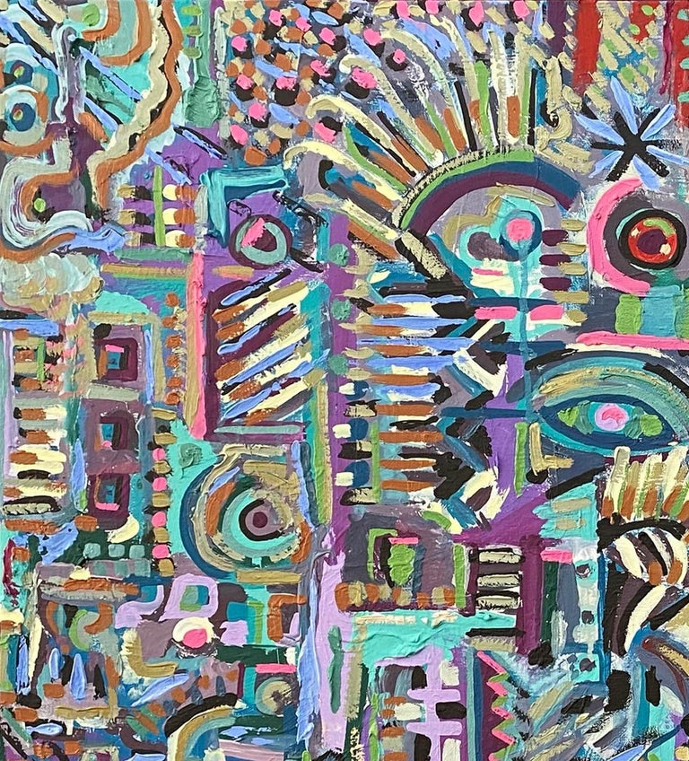 Rupestre, Contemporary Art, Abstract Painting, 21st Century 1