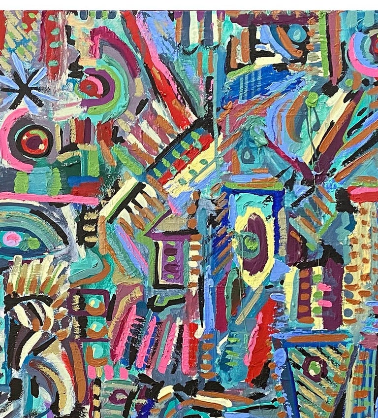 Rupestre, Contemporary Art, Abstract Painting, 21st Century 2