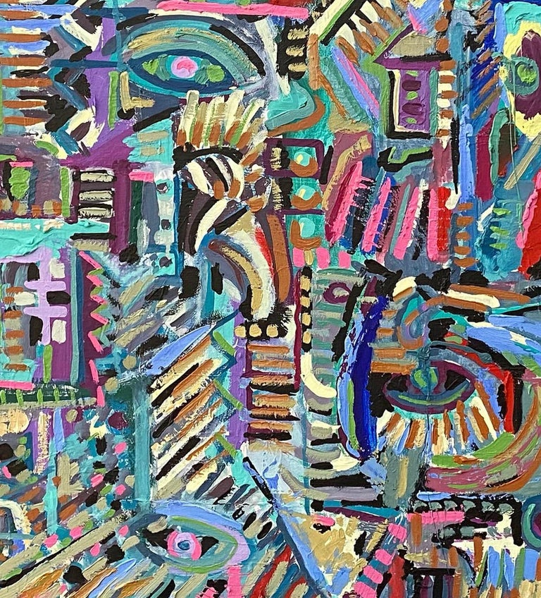 Rupestre, Contemporary Art, Abstract Painting, 21st Century 4