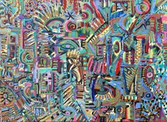 Rupestre, Contemporary Art, Abstract Painting, 21st Century