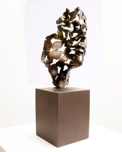 Essence of masculine youth 22 bronze coulé Miguel Guía Expressionist Sculpture