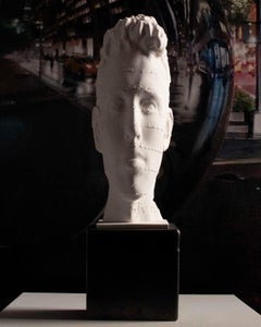 We are Literature - Miguel Guía Realism compacted marble powder Sculpture