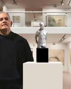 Young torso synthesis - Miguel Guía Pop Art Sculpture