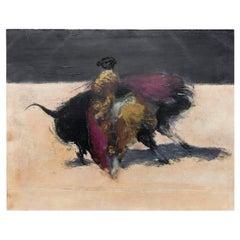 Miguel Macaya Bullfighter Etching Artist Proof